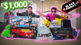 GASTAMOS $1000 NO BLACK FRIDAY AMERICANO!