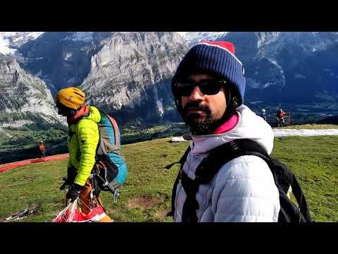 Travelvlog L Paragliding Grindelwald Switzerland Aug2018 L Heblogsshevlogs