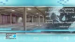 3D Laser Scanning / eBIM / BIM Model / 3D CAD Model / Industrial Shed