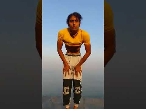 Nauli kriya - Abdominal churning by Dhananjaya bhaarata