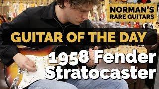 Guitar of the Day: Original 1958 Fender Stratocaster | Norman s Rare Guitars