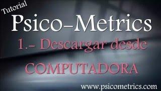 COMO DESCARGAR ~ PSICOMETRICS