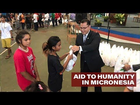 INC PROVIDES AID IN MICRONESIA