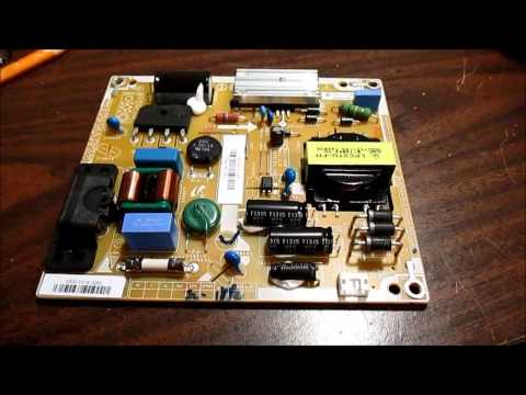 Vizio E320i-A0 powersupply board diagnosis and failed repair