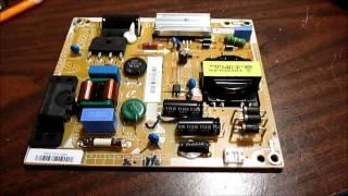 Vizio E320i-A0 powersupply board diagnosis and failed repair