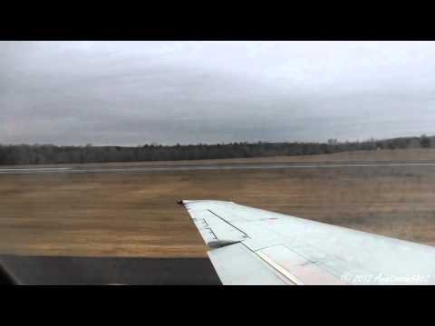 Airtran Airways Boeing 717 Full Throttle Takeoff from Bradley International Airport! *With ATC*