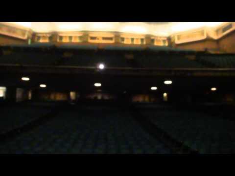 Saund Check before concert in Pasadena Civic 2010