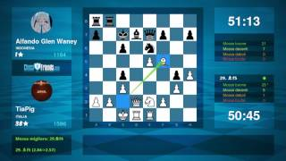 Chess Game Analysis: TiaPig - Alfando Glen Waney : 1-0 (By ChessFriends.com)