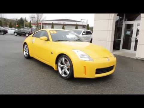 2005 Nissan 350z Yellow 5m610505 Redmond Seattle