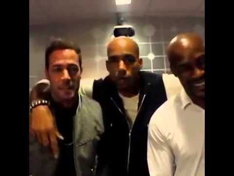William Levy @willylevy29 & Tyson Beckford & Boris Kodjoe