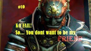 [Super Smash Bros] ¡KO punch fail! Ganondorf, rey del disrespect