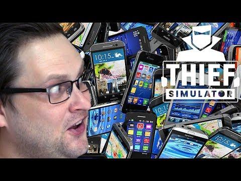 ЭЛЕКТРОННОЕ БОГАТСТВО ► Thief Simulator #8