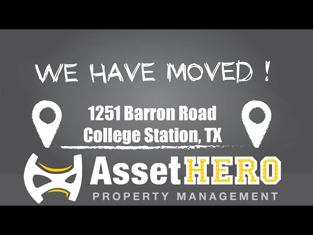 Asset Hero Property Management   New Office Location