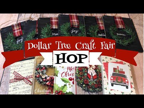 Dollar Tree Craft Fair Ideas HOP | 3 Craft Fair Ideas!