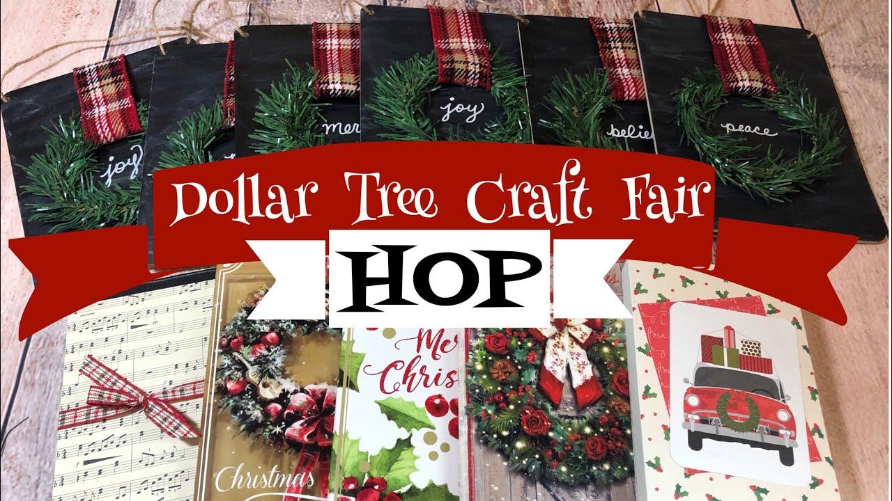 Dollar Tree Craft Fair Ideas HOP
