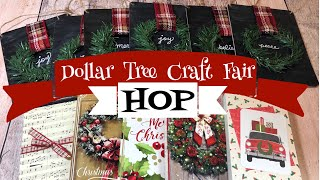 Dollar Tree Craft Fair Ideas HOP | 3 Craft Fair Ideas!