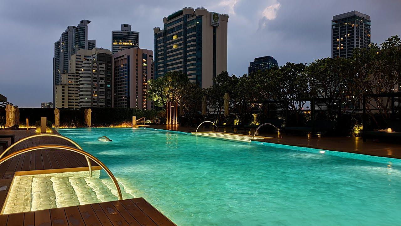 Swimming Pool - Carlton Hotel Bangkok Sukhumvit - Thailand [2021] [4K]