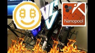 Nicehash vs Nanopool