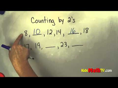 Counting By Twos Video Lesson For Children