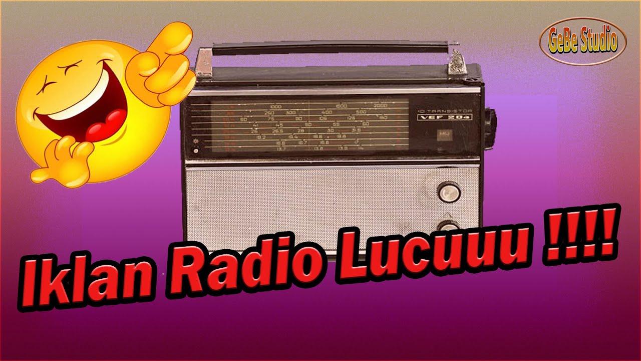 GOKIL BANGET IKLAN RADIO LUCU RENCANA THOURING MULEK HAHA