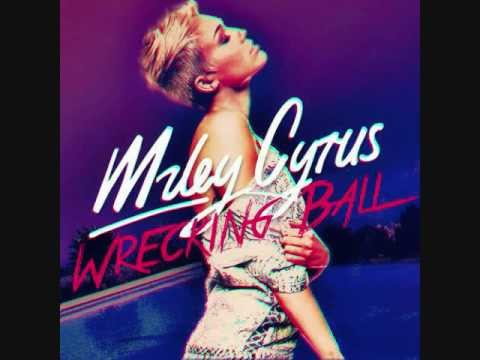 Miley Cyrus- Wrecking Ball (Audio)