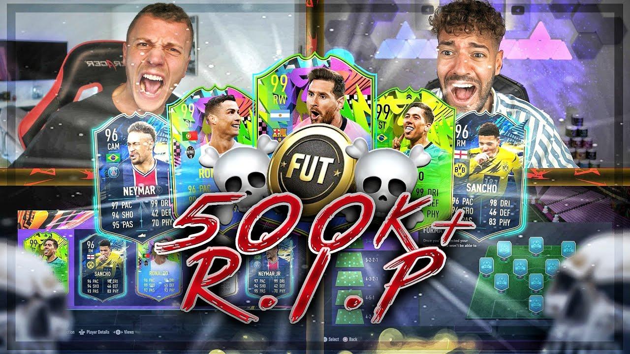 MEGA DISCARD RISIKO mit 500k+ PRICE RANGE 😱🔥 FIFA 21 : Discard Battle