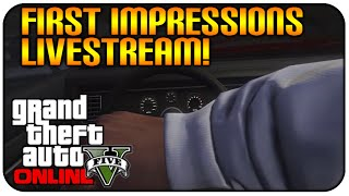 GTA 5 Online (XboxOne/PS4) - MY FIRST IMPRESSIONS FIRST PERSON, SHOOTING & MORE [NEXT GEN GAMEPLAY]