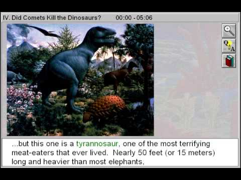 Did Comets Kill the Dinosaurs (Space Speculation Part 4)