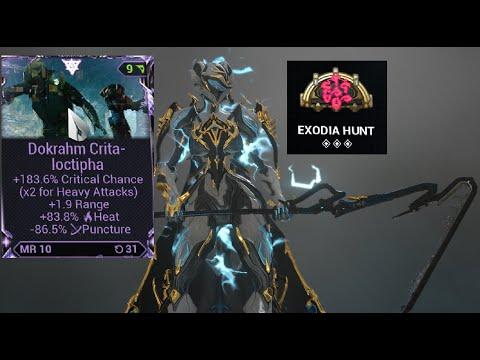Warframe - Dokrahm Heavy Blade(Gas+Exodia Hunt)