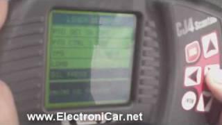 prueba camion international con el scanner cj4