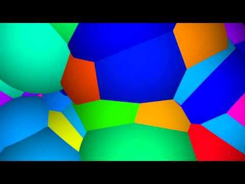 Colour Blobs Animation