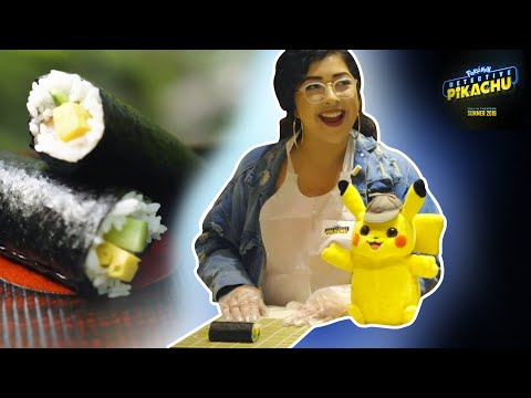 Sushi Making 101: With Maya // Presented by POKÉMON Detective Pikachu