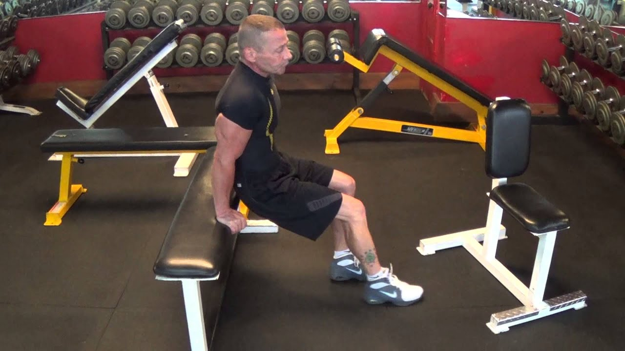 Reverse pushups for triceps 85