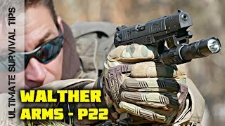 A Tactical / Survival .22 PISTOL for BUG OUT? - Walther P22 - REVIEW