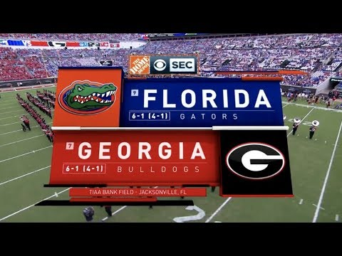 2018 #7 Georgia Vs #9 Florida Full Game