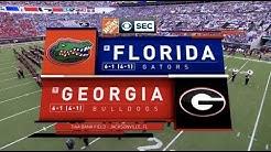 2018 #7 Georgia vs #9 Florida Full Game