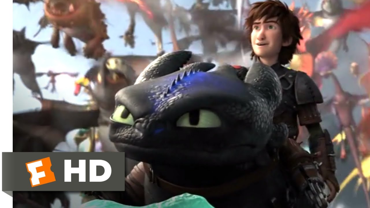 Download How to Train Your Dragon 2 - Toothless Fights Back Scene | Fandango Family