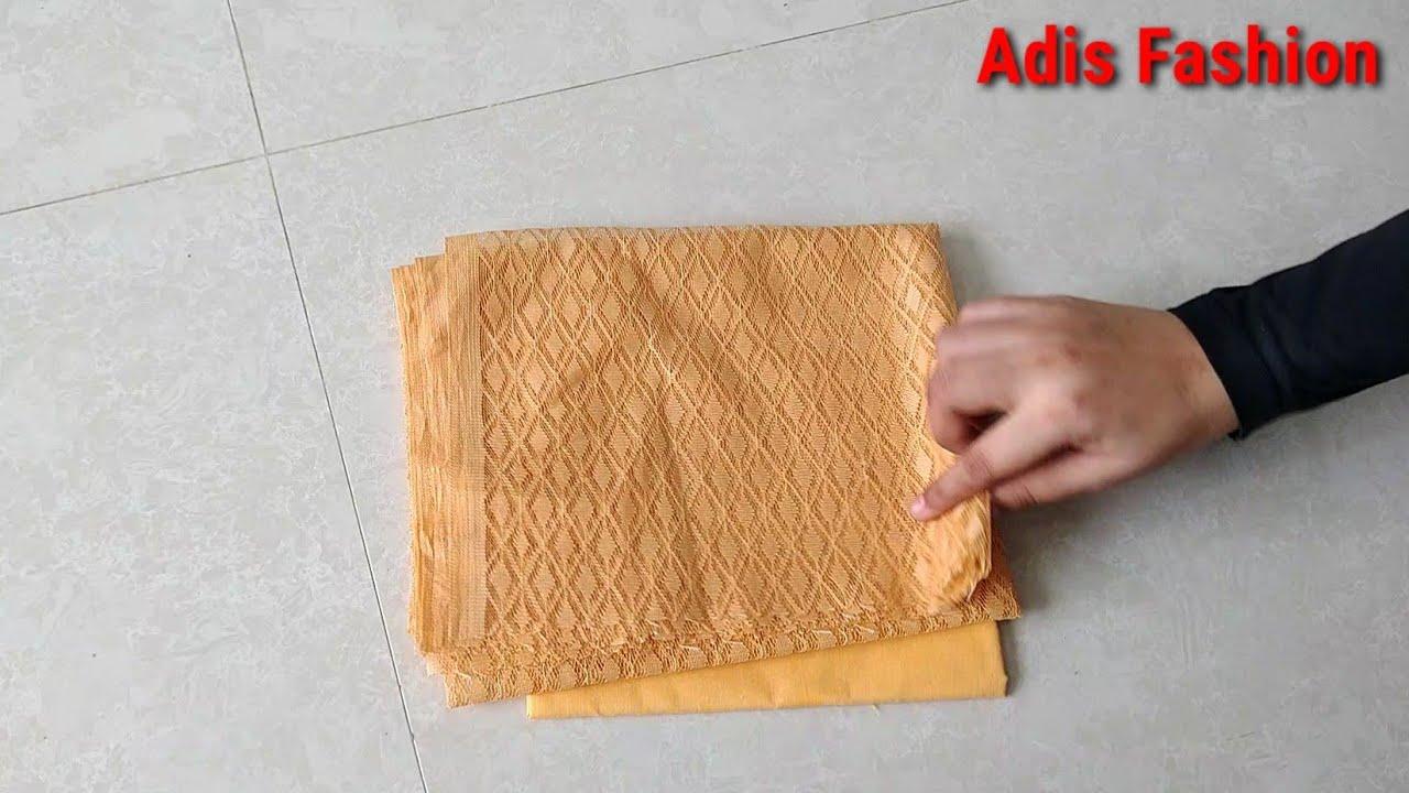 Net blouse design|net blouse design pattern cutting &stitching back neck|Blouse designs/adis fashion