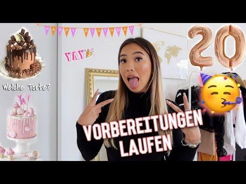 Vorbereitung Für Meinen 20. Geburtstag 🥂 (looong VLOG) -Adorable Caro