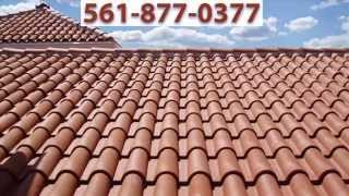 Power Washing Roof & Property Palm Beach Island -jupiter-hobe Sound-boca-tennis Courts