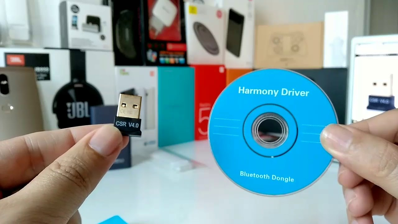 Mini USB Bluetooth 4.0 CSR4.0 Adapter Dongle for PC Laptop Win10 8 7 XP vista