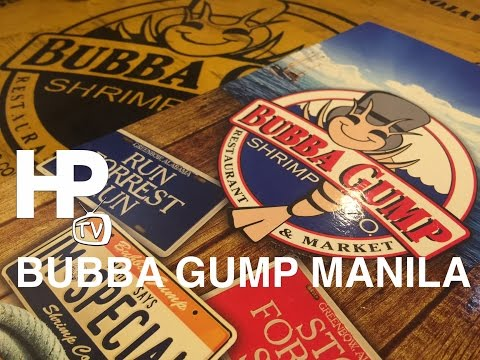 Best of Bubba Gump Shrimp Company Restaurant Manila by HourPhilippines.com