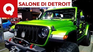 Jeep Wrangler Rubicon by Moparal Salone di Detroit 2018 | Quattroruote
