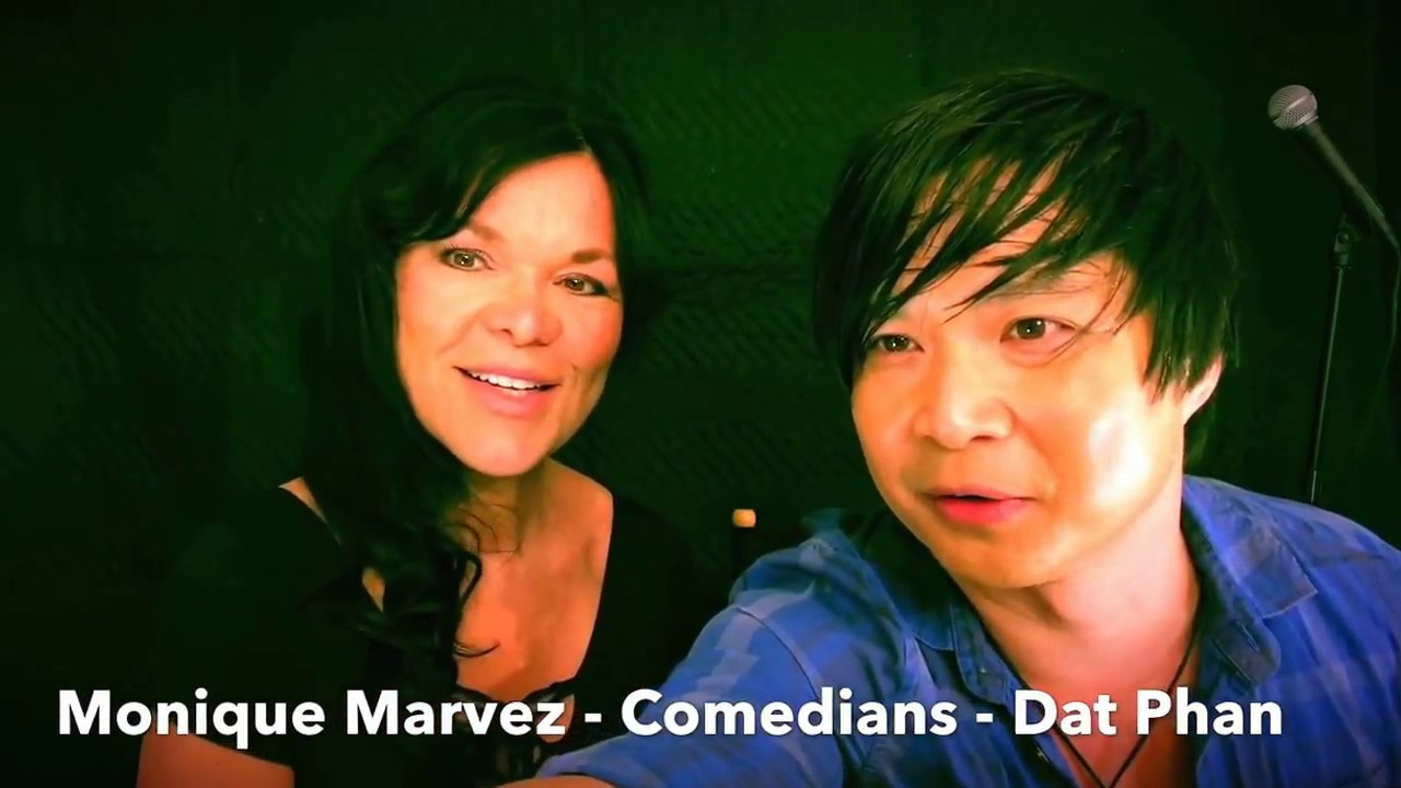 Monique Marvez / Dat Phan Stand-Up Comedy July 2017 Pho Talk Los Angeles