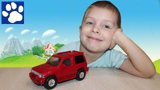 Делаем мультик про внедорожник Митсубиси Паджеро | Create a toy car off-road Mitsubishi Pajero