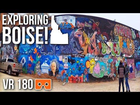 WE LOVE Our City   Exploring Boise, Idaho [Virtual Reality 180]