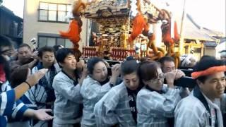 松戸神社 角町町会 神輿渡御 平成23年10月16日(日)
