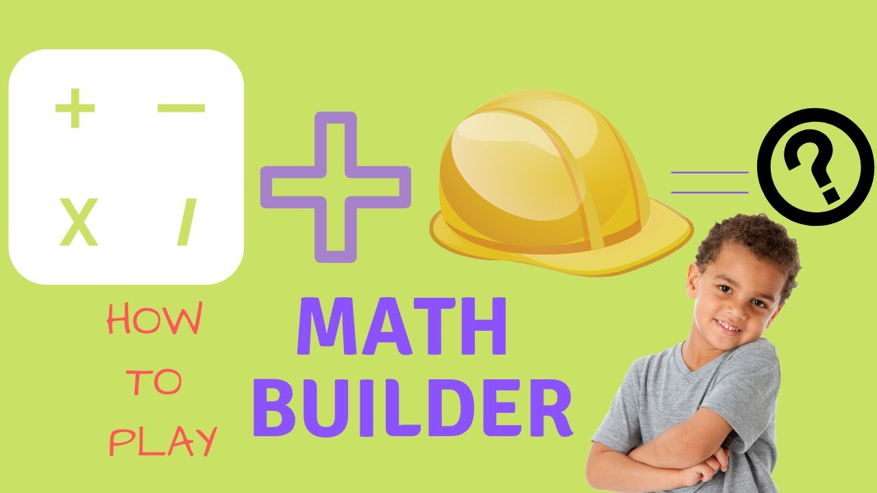 How to play Math Builder - Math Startegy game for kids - YouTube