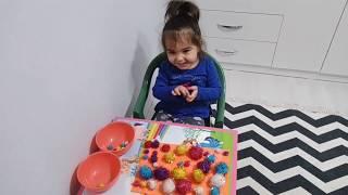 #Renkler#oyun#etkinlik/Rana Ponponlarla Renkleri Öğreniyor Eğlenceli Çocuk Videosu