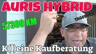 K(l)eine Kaufberatung - KM 57300 KM - Toyota Auris Hybrid Tagebuch